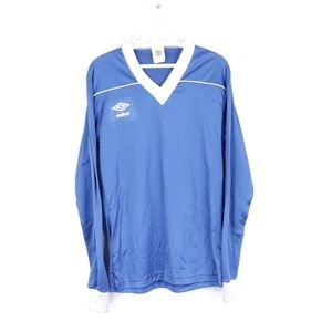 NOS 80s Umbro Long Sleeve Soccer Jersey Mens M